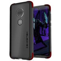 Ghostek Motorola Moto G7 Covert 3 Bumper Case - Smoke Black