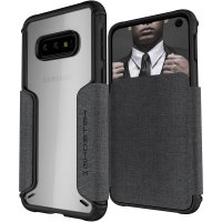 Ghostek Exec 3 Samsung Galaxy S10e Wallet Case- Grey