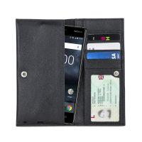 Funda Nokia 3 Olixar Primo Cuero Tipo Cartera - Negra