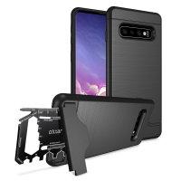 Olixar X-Ranger Samsung Galaxy S10 Survival Case - Tactical Black