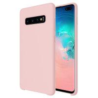 Olixar Samsung Galaxy S10 Plus Soft Silicone Case - Pastel Pink