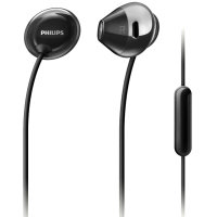 Philips Flite Hyprlite In-Ear Headphones with Microphone - Black