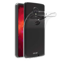 Olixar FlexiShield Motorola Moto G7 Plus Gel Case - Clear
