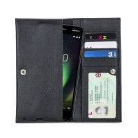 Olixar Primo Lederen Nokia 2 V Portemonnee Case - Zwart