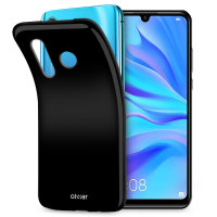 Olixar FlexiShield Huawei P30 Lite Gel Case - Solid Black