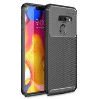 Olixar Carbon Fibre LG G8 Case - Black