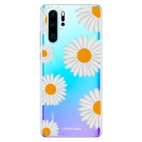 LoveCases Huawei P30 Pro Daisy Case - White