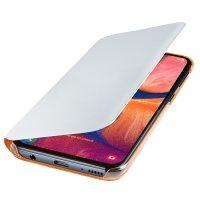 Official Samsung Galaxy A20e Wallet Flip Cover Case - White