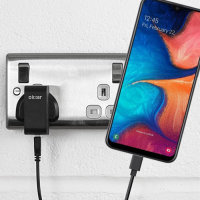 High Power Samsung Galaxy A20 Wall Charger & 1m Cable