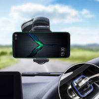Olixar DriveTime Xiaomi Black Shark 2 Car Holder & Charger Pack