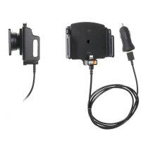 Brodit Active Holder With Tilt Swivel iPhone XR MFi Lightning Cable