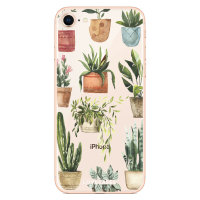 LoveCases iPhone 8 Plant Phone Case - Clear Multi