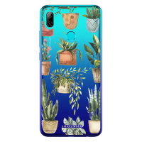 LoveCases Huawei P Smart 2019 Plant Phone Case - Clear Multi