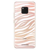 LoveCases Huawei Mate 20 Pro Gel Case - Zebra