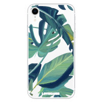 LoveCases iPhone XR Tropical Phone Case - Clear Green