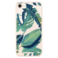 LoveCases iPhone 8 Tropical Phone Case - Clear Green