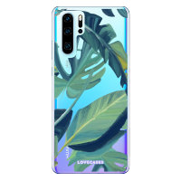 LoveCases Huawei P30 Pro Tropical Phone Case - Clear Green