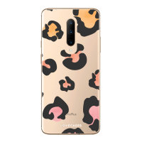 LoveCases OnePlus 7 Pro Coloured Leopard Clear Phone Case