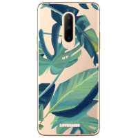 LoveCases OnePlus 7 Pro Tropical Phone Case - Clear Green
