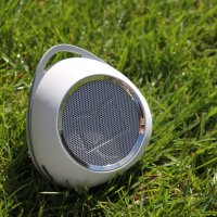 Altavoz portátil Bluetooth Monster SuperStar HotShot - Blanco / Cromo