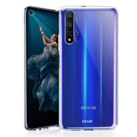 Olixar Ultra-Thin Honor 20 Gel Case - Transparant