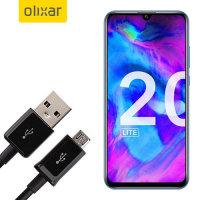 Olixar Honor 20 Lite Power, Data & Sync Cable - Micro USB