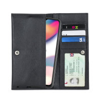 Olixar Primo Genuine Leather Oppo Reno Z Wallet Case - Black