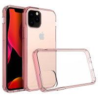 Olixar ExoShield Tough Snap-on iPhone 11 Pro Case  - Rose Gold / Clear