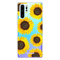 LoveCases Huawei P30 Pro Sunflower Clear Phone Case