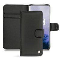 Noreve Tradition B OnePlus 7 Pro 5G Leather Wallet Case - Black