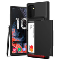 VRS Design Damda Glide Shield Samsung Note 10 Case - Matt Black