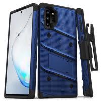 Zizo Bolt Samsung Note 10 Plus Case & Screen Protector - Blue/Black