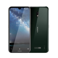 Official Nokia Xpress-On Cover Case for Nokia 2.2 - Forest Green