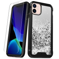 Zizo Ion Series iPhone 11 Case & Screen Protector - Silver