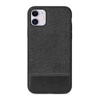 Meleovo Fabric Series iPhone 11 Premium Case - Black