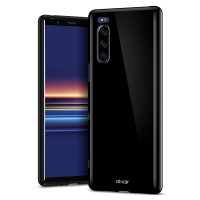 Olixar FlexiShield Sony Xperia 5 Case - Black