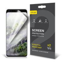 Olixar Google Pixel 4 XL Film Screen Protector 2-in-1 Pack