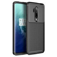 Olixar Carbon Fibre OnePlus 7T Pro Case - Black