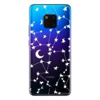 Coque Huawei Mate 20 Pro LoveCases Ciel étoilé – Transparent