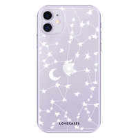 LoveCases iPhone 11 Clear Starry Phone Case