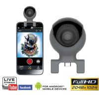 Cámara 360º USB-C / Micro USB Easypix GoXtreme para Smartphones