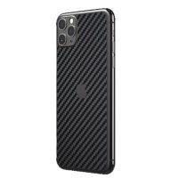 RhinoShield iPhone 11 Pro Max Impact Back Skin - Carbon Fiber