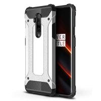 Olixar Delta Armour Oneplus 7T Pro 5G McLaren Protective Case - Silver