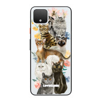 LoveCases Google Pixel 4 XL Cats Clear Phone Case