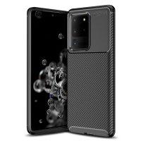 Olixar Carbon Fibre Samsung Galaxy S20 Ultra Case - Black