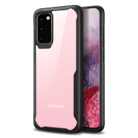 Olixar NovaShield Samsung Galaxy S20 Bumper Case - Black