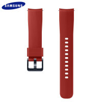 Official Samsung Galaxy Watch Active 2 20mm Silicone Strap - Red