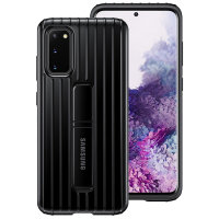 Official Samsung Galaxy S20 Protective Standing Cover Case - Black