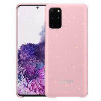 Official Samsung Galaxy S20 Plus LED Cover Case - Pink