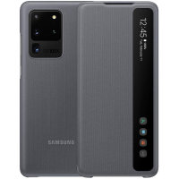Official Samsung Galaxy S20 Ultra Clear View Cover Case - Grey